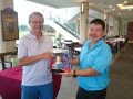 ALA retained the trophy for the 1st ALA(S)-CIArb-SCCA Friendly Triangular Golf challenge.