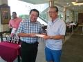 Nearest the pin winner: Yong Eng Wah